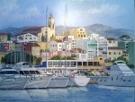 Obras de arte: Europa : España : Catalunya_Barcelona : El_Masnou : port d´El Masnou