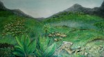 Obras de arte: America : Panamá : Panama-region : BellaVista : volcan baru