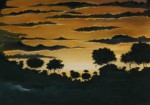 Obras de arte: America : Panamá : Panama-region : BellaVista : arde el horizonte