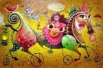 Obras de arte: America : Cuba : La_Habana : Vedado : guajiros