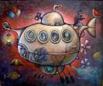 Obras de arte: America : Cuba : La_Habana : Vedado : el ultimo viaje del capitan nemo