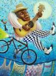 Obras de arte: America : Cuba : La_Habana : Vedado : trovatur en la habana