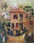 Obras de arte: America : Cuba : La_Habana : Vedado : la casa varada