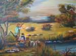 Obras de arte: America : Colombia : Distrito_Capital_de-Bogota : Bogota_ciudad : CAZADORES