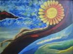 Obras de arte: America : Ecuador : Imbabura : Cotacachi : Christianstephen - El sol gira en torno a...