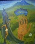 Obras de arte: America : Ecuador : Imbabura : Cotacachi : Christianstephen - Nostalgia al Cotacachi