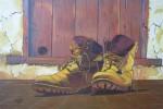 Obras de arte: Europa : España : Castilla_y_León_Burgos : Miranda_de_Ebro : botas