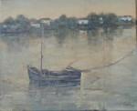 Obras de arte: Europa : España : Andalucía_Sevilla : Puebla_del_Río : Barcas en el Guadalquivir