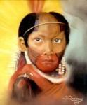 Obras de arte: America : Brasil : Rio_de_Janeiro : Rio__de_Janeiro : Menino Índio