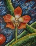 Obras de arte: America : Colombia : Antioquia : Medellín : La Orquidea Mariposa