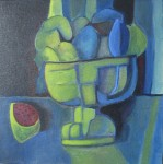 Obras de arte: Europa : España : Madrid : Valdemorillo : Frutas en copa