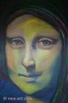 Obras de arte: Europa : Dinamarca : Vejle : Dinamarca-Vejle : interpretación de la mona lisa