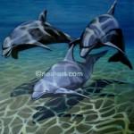 Obras de arte: Europa : Dinamarca : Vejle : Dinamarca-Vejle : delfines