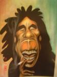 Obras de arte: America : México : Mexico_Distrito-Federal : Coyoacan : Bob Marley