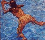 Obras de arte: Europa : España : Andalucía_Cádiz : Arcos_Fra : Isabel swimming
