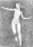 Obras de arte: Europa : España : Andalucía_Cádiz : Arcos_Fra : Desnudo femenino 1