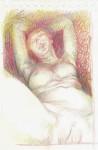 Obras de arte: Europa : España : Andalucía_Cádiz : Arcos_Fra : Desnudo femenino 3
