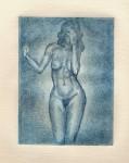 Obras de arte: Europa : España : Andalucía_Cádiz : Arcos_Fra : Desnudo femenino 4