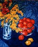 Obras de arte: Europa : España : Andalucía_Cádiz : Arcos_Fra : Bodegon con mimosa