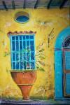 Obras de arte: America : Venezuela : Yaracuy : San_felipe : ventanal viejo