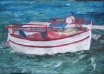 Obras de arte: Europa : España : Catalunya_Barcelona : BCN : Reposo de una barca
