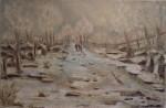 Obras de arte: Europa : España : Andalucía_Granada : armilla : Pisaje Nevado