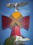 Obras de arte: Europa : España : Catalunya_Tarragona : Cambrils : Torre I Sagrada Familia