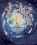 Obras de arte: America : Argentina : Buenos_Aires : Ciudad_de_Buenos_Aires : girones en el cielo II