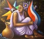 Obras de arte: America : Costa_Rica : San_Jose : Zapote-San_Francisco : Simbolos Patrios