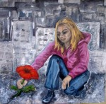 Obras de arte: Europa : España : Principado_de_Asturias : Gijón : La Última Flor
