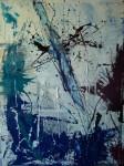 Obras de arte: Europa : España : Andalucía_Jaén : Jaen_ciudad : El Azul imposible