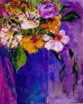Obras de arte: Europa : España : Valencia : Ontinyent : bodegon con flores