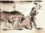 Obras de arte: Europa : España : Valencia : moncada : torero