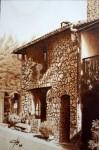 Obras de arte: Europa : España : Madrid : alcala_de_henares : Casa rural (Sierra de Salamanca)