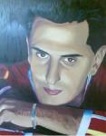 Obras de arte: Europa : España : Galicia_Pontevedra : vigo : Retrato Carlos: siempre mi hermano.