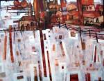 Obras de arte: Europa : España : Catalunya_Girona : La_Escala : DOMINGO POR LA TARDE EN EL CAMPO
