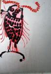 Obras de arte: Europa : España : Catalunya_Tarragona : Reus : FOTOGRAMAS DE UNA HUIDA.EL PEZ GRANDE SE COME EL PEQUEÑO(Fotogrames d'un fugida.El peix gran es menja el petit)