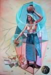 Obras de arte: America : M�xico : Jalisco : Guadalajara : aguadora de oaxaca de la serie etnias