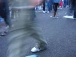 Obras de arte: Europa : España : Catalunya_Barcelona : SantFeliu_de_Llobregat : Pie de asfalto
