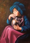 Obras de arte: Europa : España : Comunidad_Valenciana_Alicante : denia : joven lechera