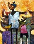 Obras de arte: America : Bolivia : Cochabamba : Cochabamba_ciudad : Guerreros de los andes