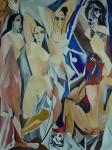 Obras de arte: Europa : España : Andalucía_Jaén : Jaen_ciudad : Las señoritas de Avignon