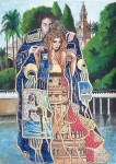 Obras de arte: Europa : España : Andalucía_Almería : Almeria : La caricia del Rio