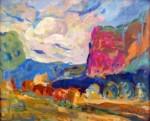 Obras de arte: Europa : Espa�a : Valencia : moncada : paisaje