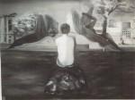 Obras de arte: Europa : España : Galicia_Pontevedra : pontevedra : estanque