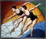 Obras de arte: Europa : España : Catalunya_Tarragona : Valls : Clase de Danza