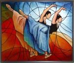 Obras de arte: Europa : Espa�a : Catalunya_Tarragona : Valls : Bailarinas