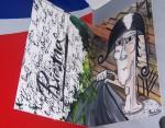 Obras de arte: Europa : España : Galicia_Pontevedra : vigo : Arlequin de Guerra...