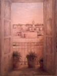 Obras de arte: Europa : Espa�a : Andaluc�a_Sevilla : Puebla_del_R�o : Coria desde el interior