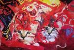 Obras de arte: America : Chile : Tarapaca : Arica : Entre lanas